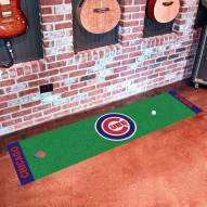 Chicago Cubs Golf Putting Green Mat