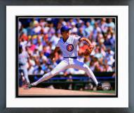 Chicago Cubs Greg Maddux 1988 Action Framed Photo