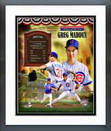 Chicago Cubs Greg Maddux MLB HOF Legends Composite Framed Photo