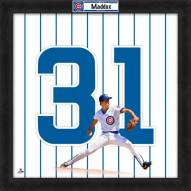 Chicago Cubs Greg Maddux Uniframe Framed Jersey Photo