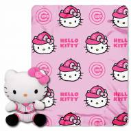 Chicago Cubs Hello Kitty Blanket & Pillow
