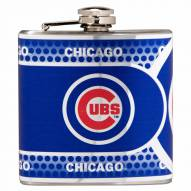 Chicago Cubs Hi-Def Stainless Steel Flask
