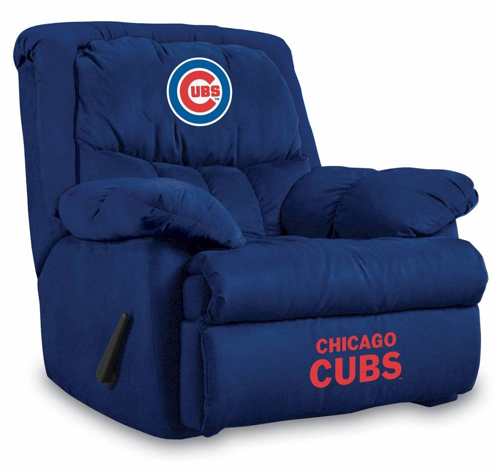 With overstuffed arms and back the Chicago Cubs Home Team Recliner will be the most comfortable seat in the house! Custom manufactured in the USA ...  sc 1 st  Sports Unlimited & Chicago Cubs Home Team Recliner islam-shia.org