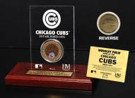 Chicago Cubs Infield Dirt Etched Acrylic