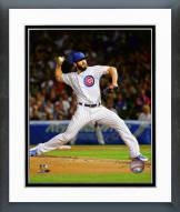 Chicago Cubs Jake Arrieta 2015 Action Framed Photo