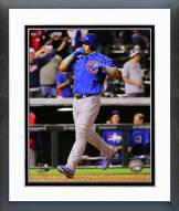 Chicago Cubs Javier Baez 1st MLB Home Run Framed Photo