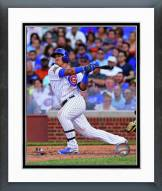 Chicago Cubs Javier Baez 2014 Action Framed Photo