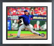 Chicago Cubs Jon Lester 2015 Action Framed Photo