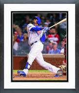 Chicago Cubs Jorge Soler 2014 Action Framed Photo