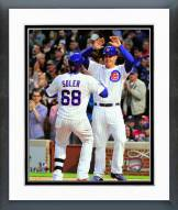 Chicago Cubs Jorge Soler & Anthony Rizzo 2015 Action Framed Photo