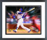 Chicago Cubs Jorge Soler Motion Blast Framed Photo