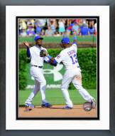 Chicago Cubs Jorge Soler & Starlin Castro 2014 Action Framed Photo