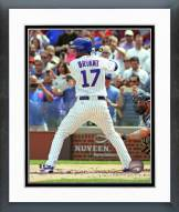 Chicago Cubs Kris Bryant 1st MLB at Bat Framed Photo
