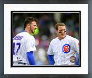 Chicago Cubs Kris Bryant & Anthony Rizzo 2015 Action Framed Photo
