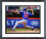 Chicago Cubs Kyle Hendricks 2014 Action Framed Photo