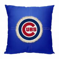 Chicago Cubs Letterman Pillow