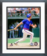 Chicago Cubs Mark Grace 1989 Action Framed Photo