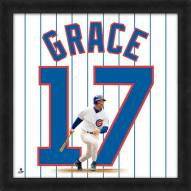 Chicago Cubs Mark Grace Uniframe Framed Jersey Photo