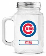 Chicago Cubs Mason Glass Jar
