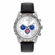 Chicago Cubs Men's Letterman Watch