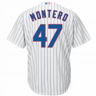 Chicago Cubs Miguel Montero Replica Home Baseball Jersey