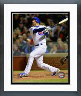 Chicago Cubs Mike Olt 2014 Action Framed Photo