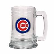 Chicago Cubs MLB 2-Piece Glass Tankard Beer Mug Set