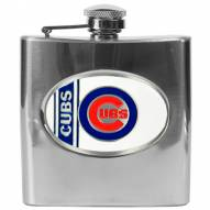 Chicago Cubs MLB 6 Oz. Stainless Steel Hip Flask