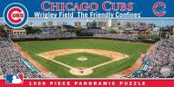 Chicago Cubs Panoramic Stadium Puzzle