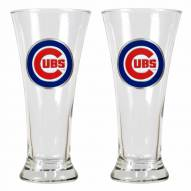 Chicago Cubs Premiere Pilsner Glass Set