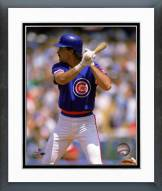 Chicago Cubs Rafael Palmeiro 1988 Action Framed Photo