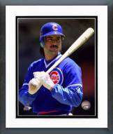 Chicago Cubs Rafael Palmeiro 1988 Posed Framed Photo
