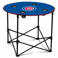 Chicago Cubs Round Folding Table