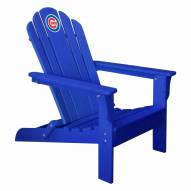 Chicago Cubs Royal Blue Adirondack Chair