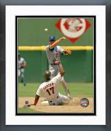Chicago Cubs Ryan Sandberg Action Framed Photo