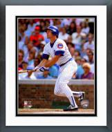 Chicago Cubs Ryne Sandberg 1989 Action Framed Photo