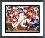 Chicago Cubs Ryne Sandberg 1990 Action Framed Photo