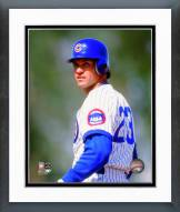 Chicago Cubs Ryne Sandberg 1992 Posed Framed Photo
