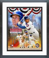 Chicago Cubs Ryne Sandberg Legends Composite Framed Photo