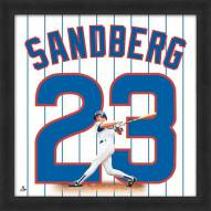 Chicago Cubs Ryne Sandberg Uniframe Framed Jersey Photo