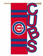Chicago Cubs Applique Flag