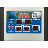 Chicago Cubs Scoreboard Desk Clock