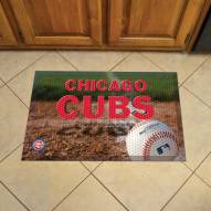 Chicago Cubs Scraper Door Mat