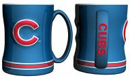 Chicago Cubs Sculpted Relief Coffee Mug