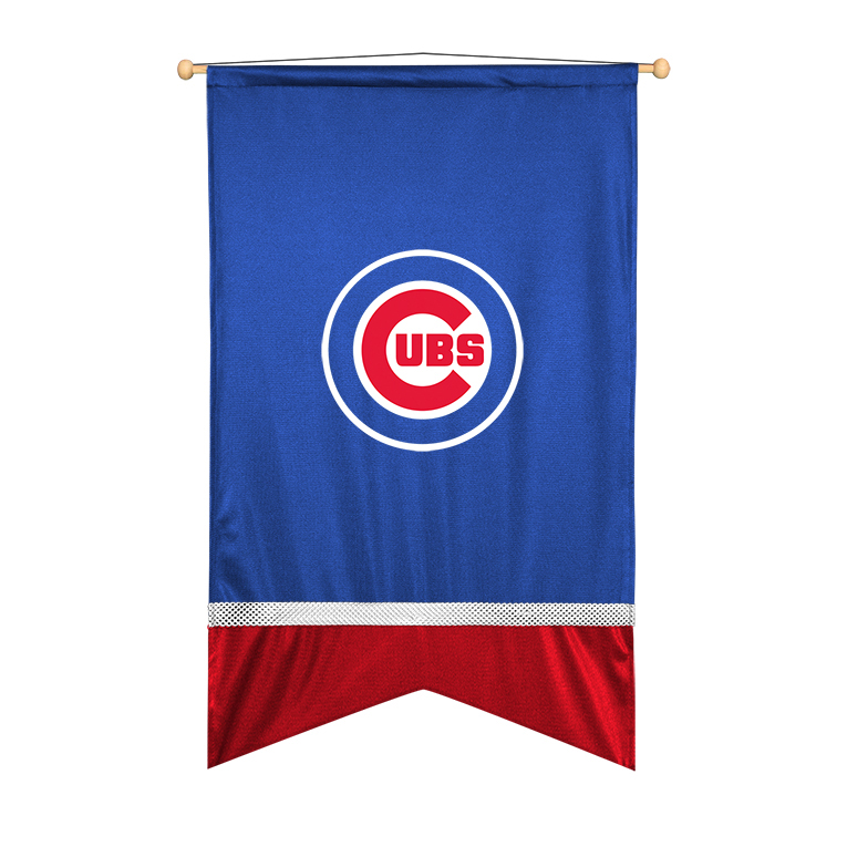 Chicago Cubs Sidelines Wall Flag