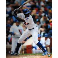 """Chicago Cubs Soriano Bat Stance Signed 16"""" x 20"""" Photo"""