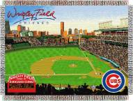 Chicago Cubs Stadium Throw Blanket