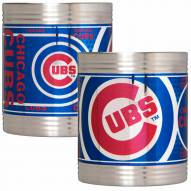 Chicago Cubs Stainless Steel Hi-Def Coozie Set