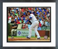 Chicago Cubs Starlin Castro 2015 Action Framed Photo