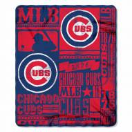 Chicago Cubs Strength Fleece Blanket